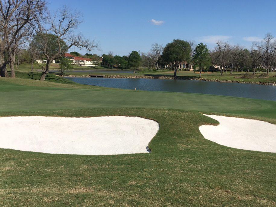 sugar creek golf course renovations by vm golf services
